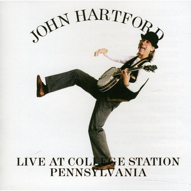 John Hartford LIVE AT COLLEGE STATION PA. CD