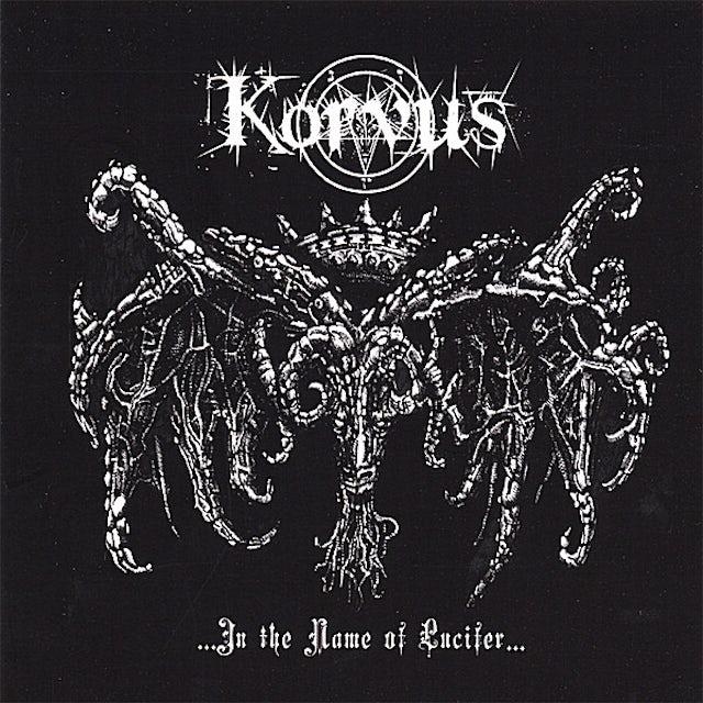 Korvus IN THE NAME OF LUCIFER CD