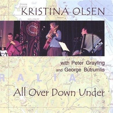 Kristina Olsen ALL OVER DOWN UNDER CD