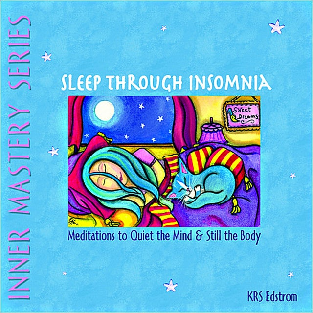 KRS Edstrom SLEEP THROUGH INSOMNIA: MEDITATIONS TO QUIET THE M CD