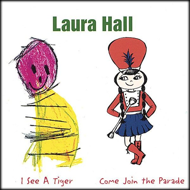 Laura Hall I SEE A TIGER CD