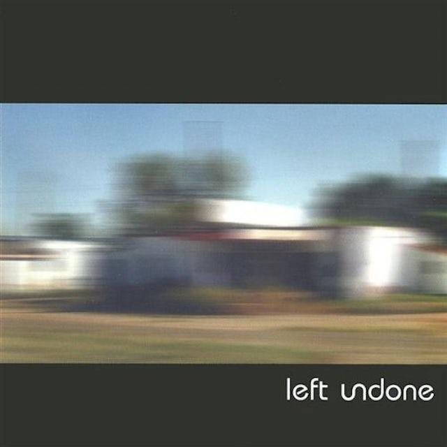 Left Undone EP CD
