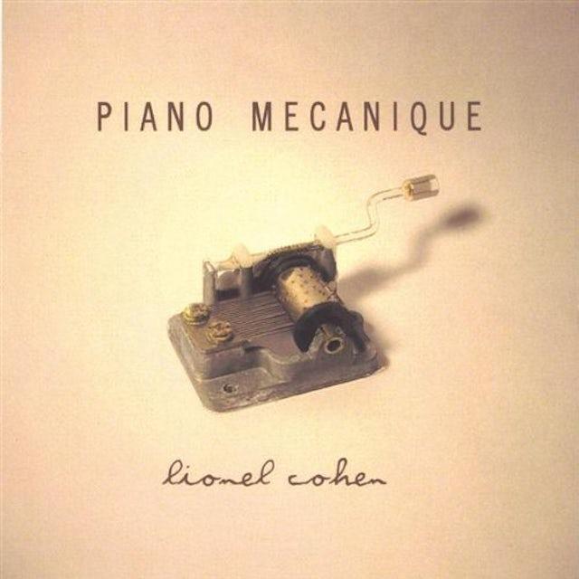 Lionel Cohen PIANO MECANIQUE CD