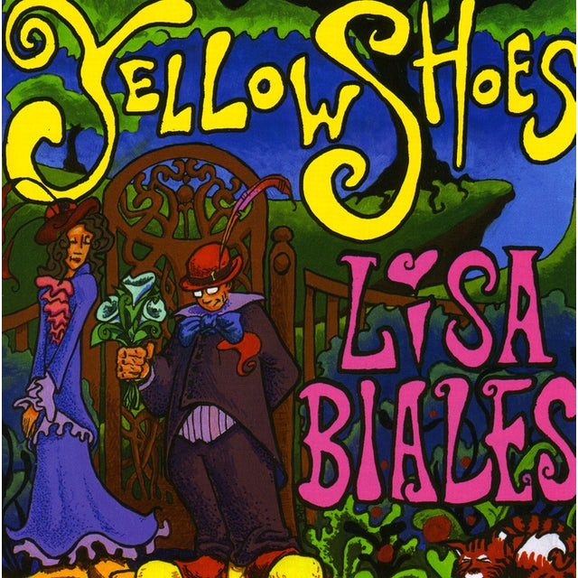 Lisa Biales YELLOW SHOES CD