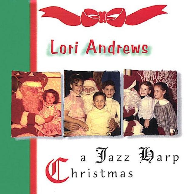 Lori Andrews JAZZ HARP CHRISTMAS CD