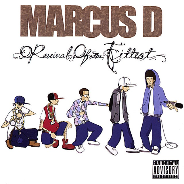Marcus D REVIVAL OF THE FITTEST CD