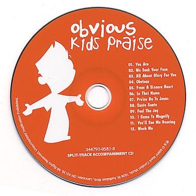 OBVIOUS KID'S PRAISE SPLIT-TRACK CD