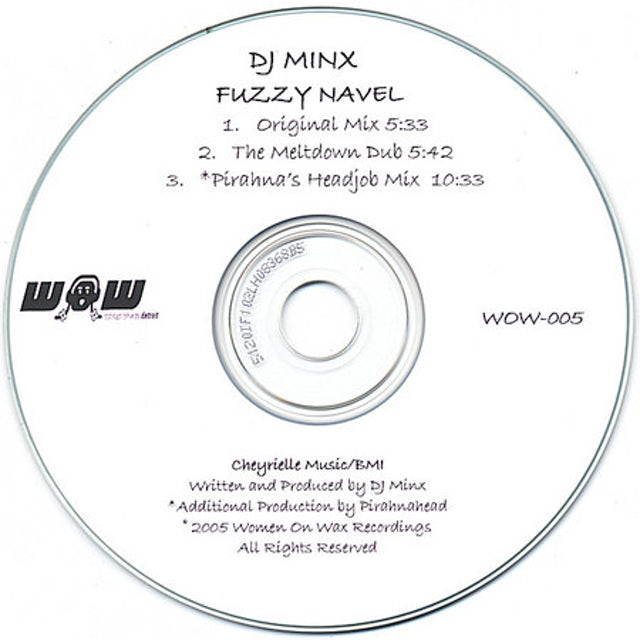 dj minx FUZZY NAVEL CD