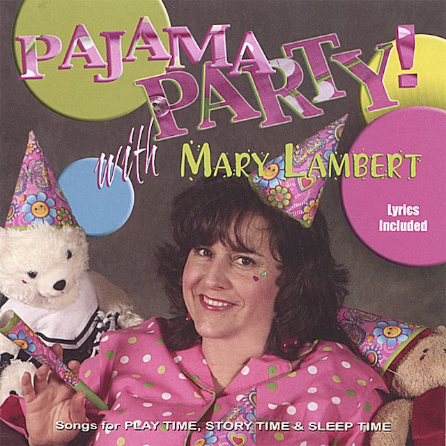 Mary Lambert PAJAMA PARTY CD
