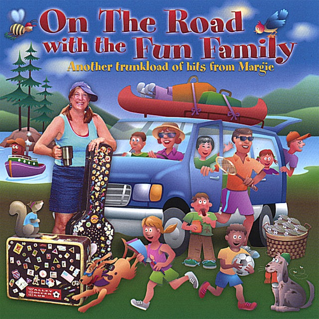 Margie ON THE ROAD WITH THE FUN FAMILY CD