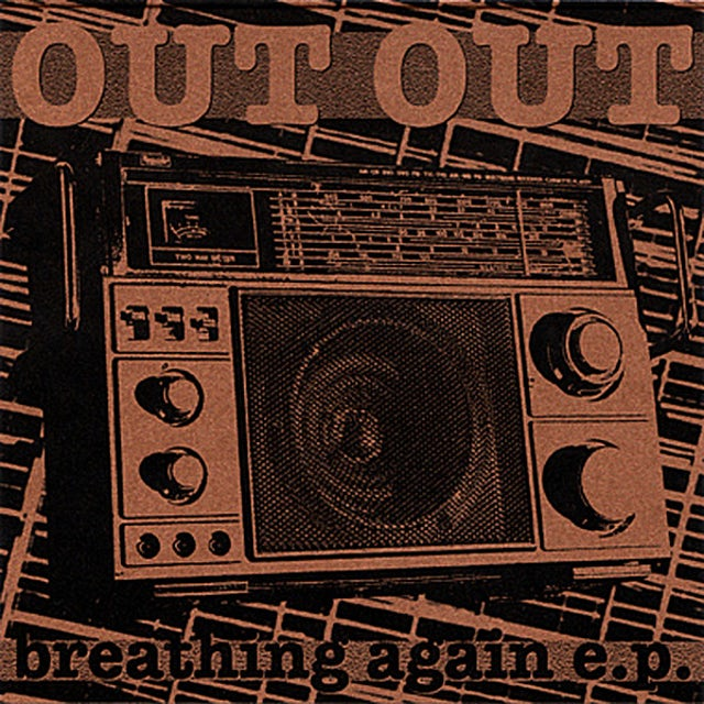 Out Out BREATHING AGAIN EP CD