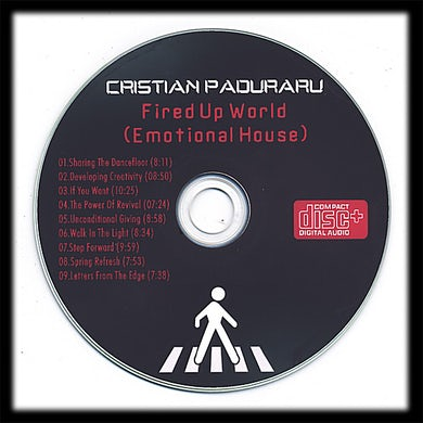 Cristian Paduraru FIRED UP WORLD CD