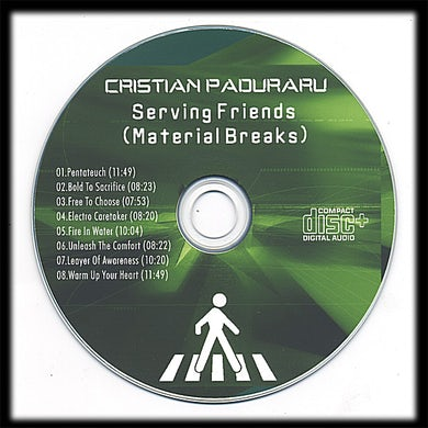 Cristian Paduraru SERVING FRIENDS CD