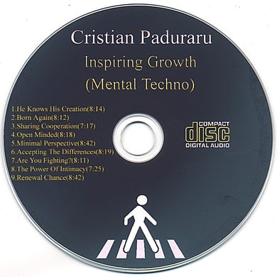 Cristian Paduraru INSPIRING GROWTH (MENTAL TECHNO) CD