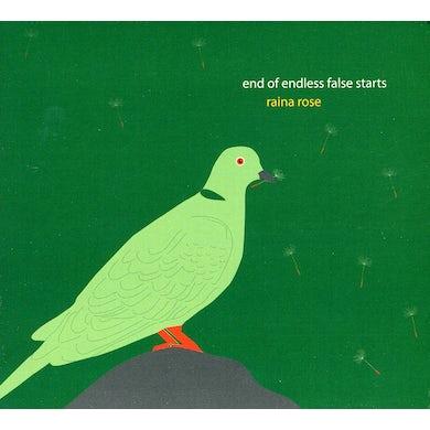 Raina Rose END OF ENDLESS FALSE STARTS CD