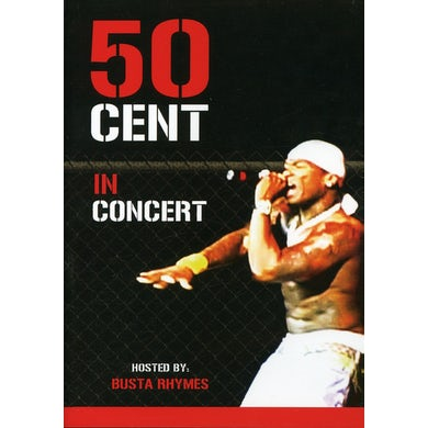 50 Cent IN CONCERT DVD