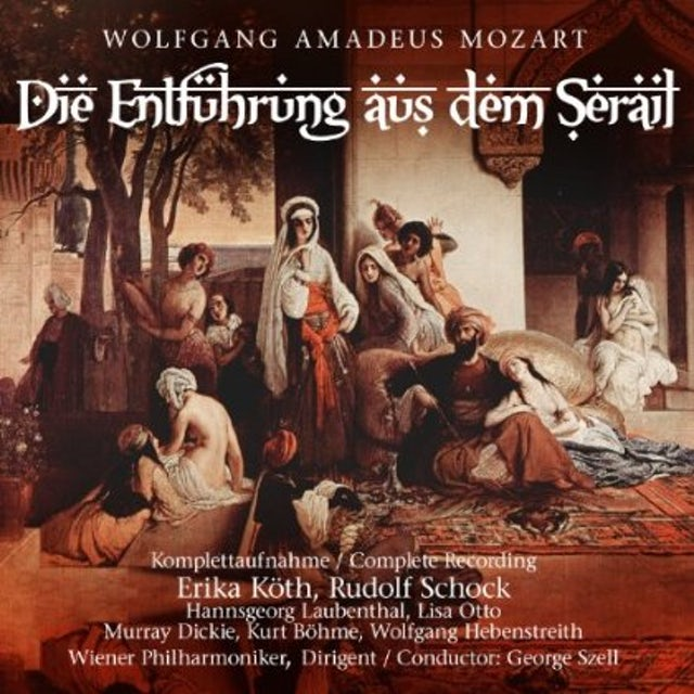 W.A. Mozart DIE ENTFNHRUNG AUS DEM SERAIL CD