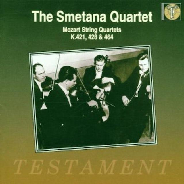 W.A. Mozart STRING QUARTETS K.421 428 464 CD