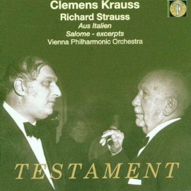R. Strauss AUS ITALIEN SALOME EXCERPTS CD