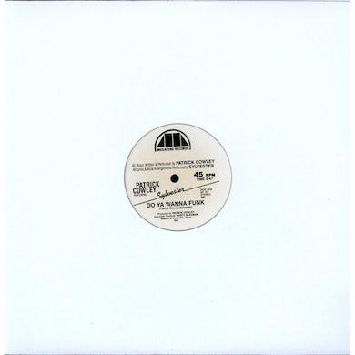 Sylvester DO YOU WANNA FUNK (2 REMIXES)/DON'T STOP Vinyl Record