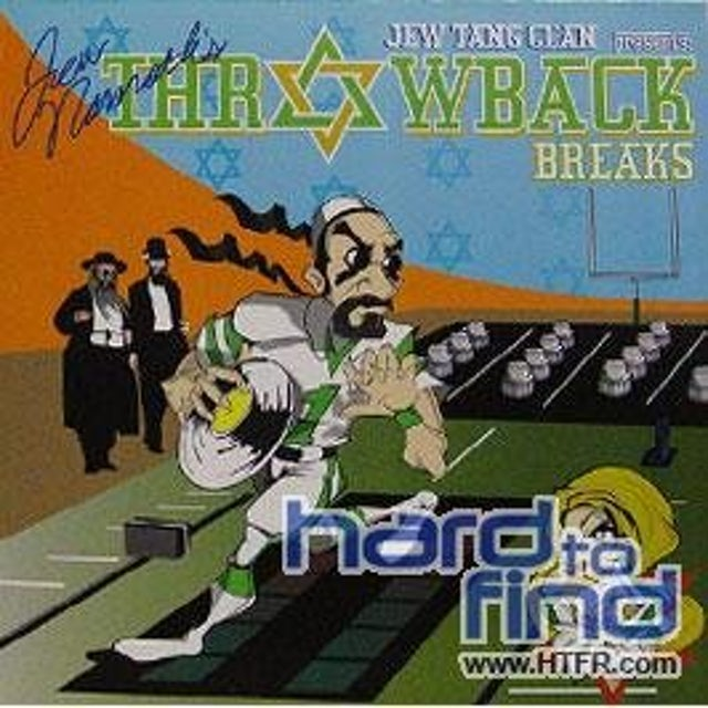 Jew Tang Clan Presents JEW NAMATH'S THROWBACK BREAKS Vinyl Record