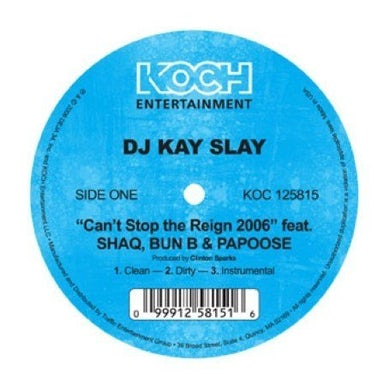 Dj Kay Slay CAN'T STOP THE REIGN 2006 Vinyl Record