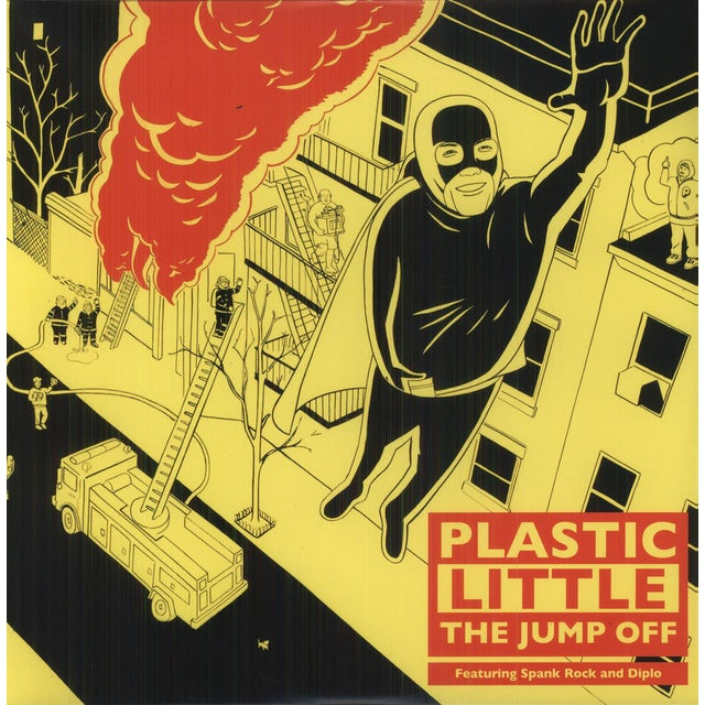 Plastic Little JUMP OFF Vinyl Record