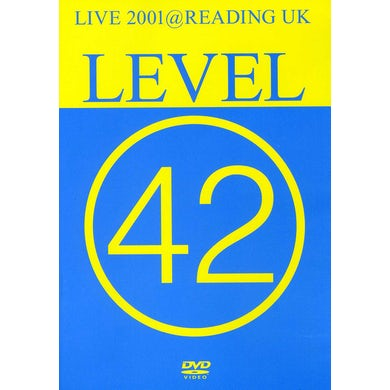 Level 42 LIVE 2001 AT READING UK DVD