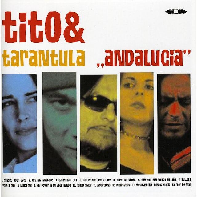 Tito & Tarantula ANDALUCIA CD