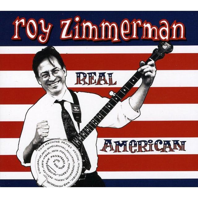 Roy Zimmerman REAL AMERICAN CD