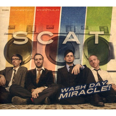 scat WASH DAY MIRACLE CD