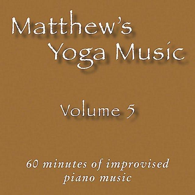 Matt Johnson MATTHEW'S YOGA MUSIC 5 CD