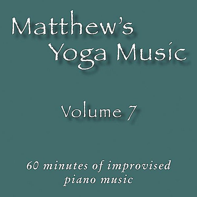 Matt Johnson MATTHEW'S YOGA MUSIC 7 CD
