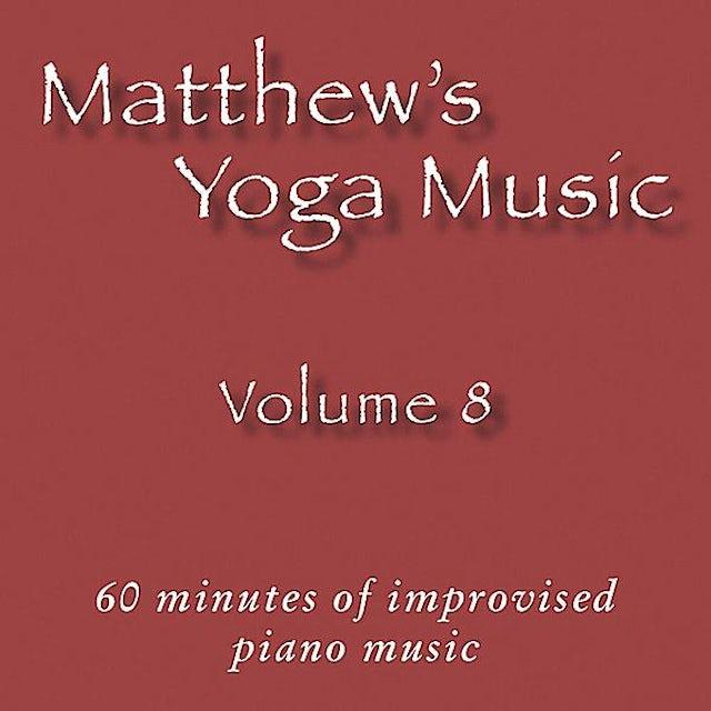 Matt Johnson MATTHEW'S YOGA MUSIC 8 CD