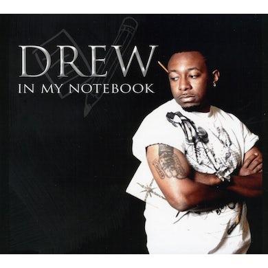 Drew IN MY NOTEBOOK CD