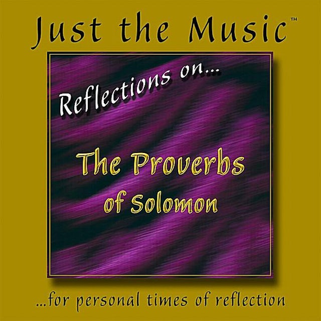 Matt Johnson JUST THE MUSIC FROM REFLECTIONS ON THE PROVERBS OF CD