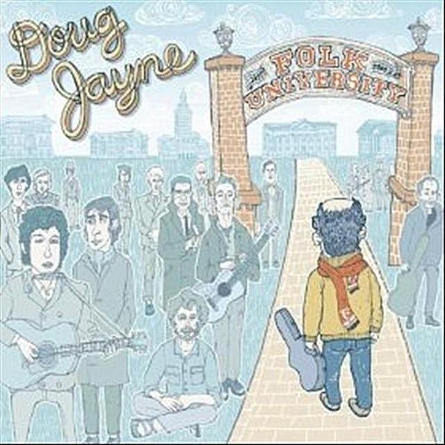 Doug Jayne FOLK UNIVERSITY CD