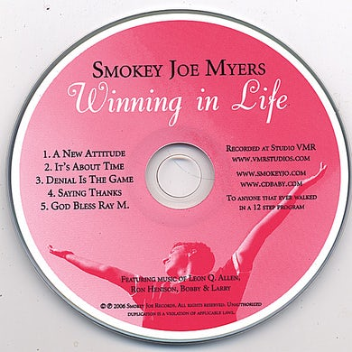 Smokey Joe WINNING IN LIFE CD