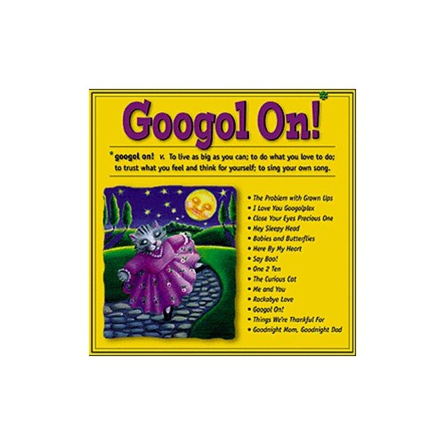Scott Johnson GOOGOL ON! CD
