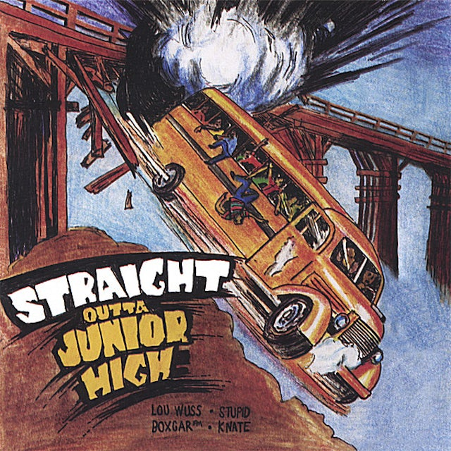 Straight Outta Junior High HERE'S A RAY OF HOPE CD