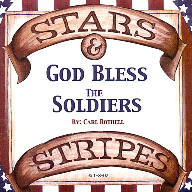 Stars & Stripes GOD BLESS THE SOLDIERS CD