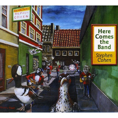 Stephen Cohen HERE COMES THE BAND CD