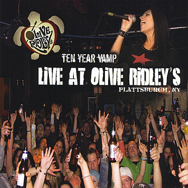 Ten Year Vamp LIVE AT OLIVE RIDLEY'S CD