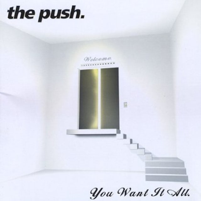 Push YOU WANT IT ALL CD