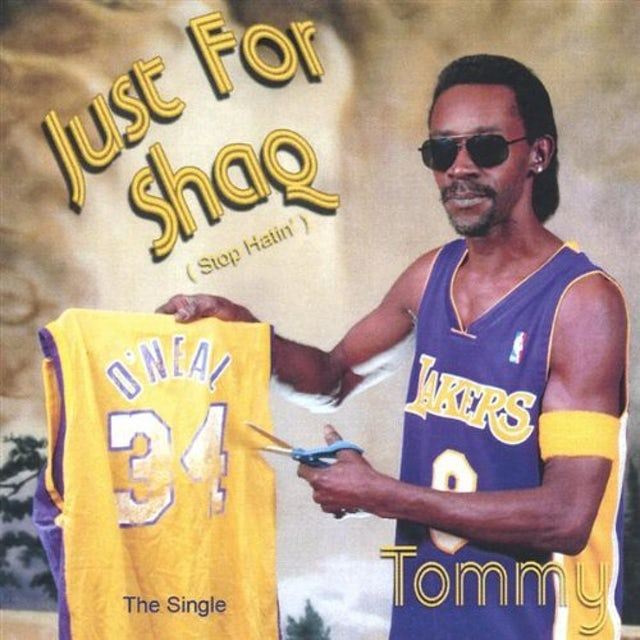 Tommy JUST FOR SHAQ CD