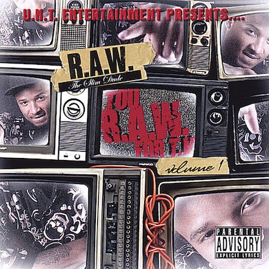 R.A.W. TOO RAW FOR T.V. CD