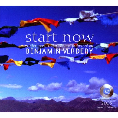 Benjamin Verdery START NOW CD