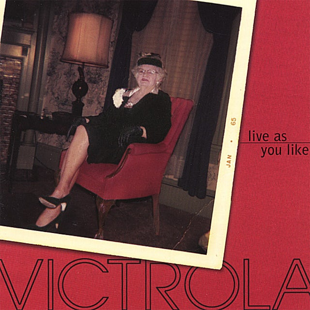 Victrola LIVE AS YOU LIKE CD