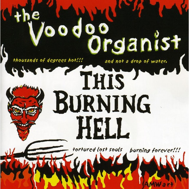 VOODOO ORGANIST THIS BURNING HELL CD