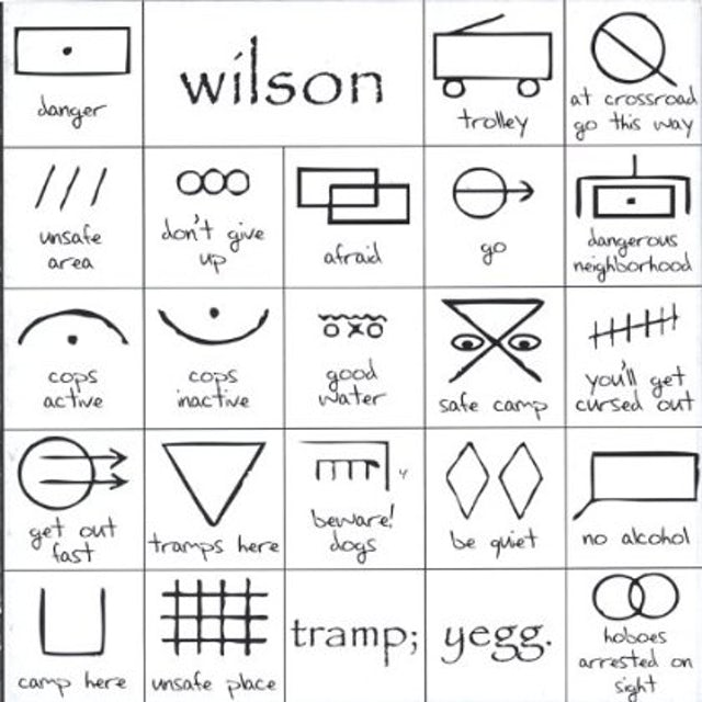 Wilson TRAMP YEGG CD